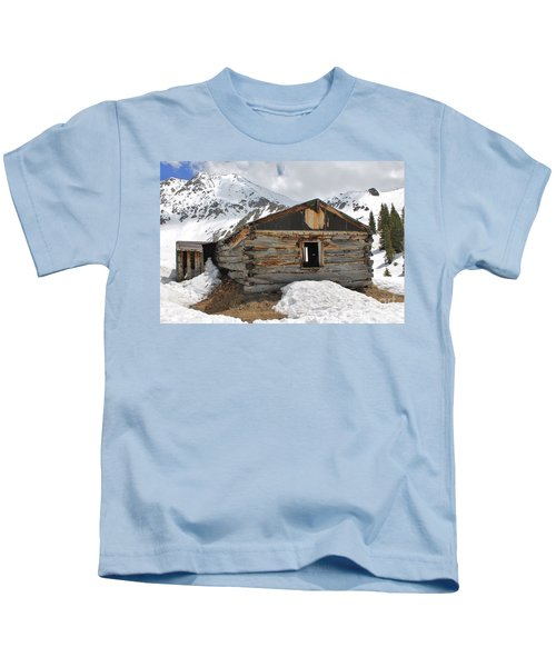 Winter At Mayflower Gulch 2 Kids T-Shirt