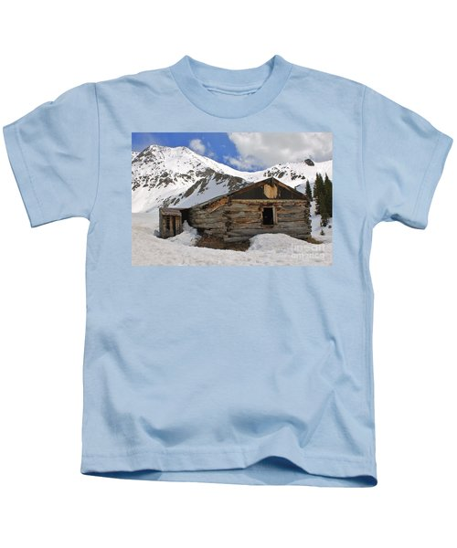 Winter At The Boston Mine 2 Kids T-Shirt