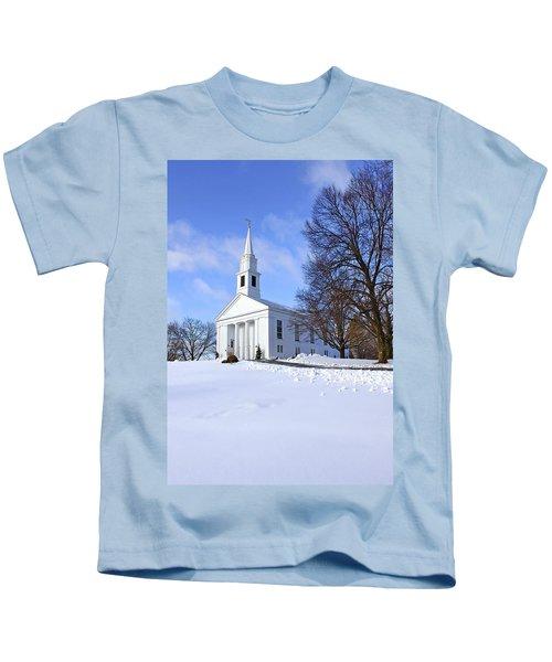 Winter Church Kids T-Shirt