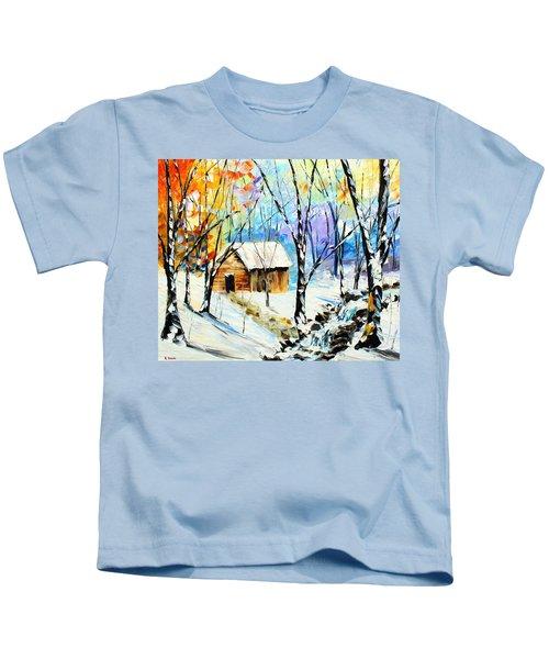 Winter Colors Kids T-Shirt