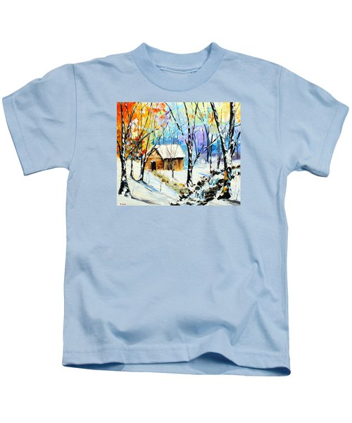 Winter Colors Kids T-Shirt