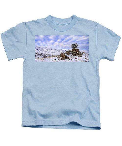 Winter Desert Kids T-Shirt