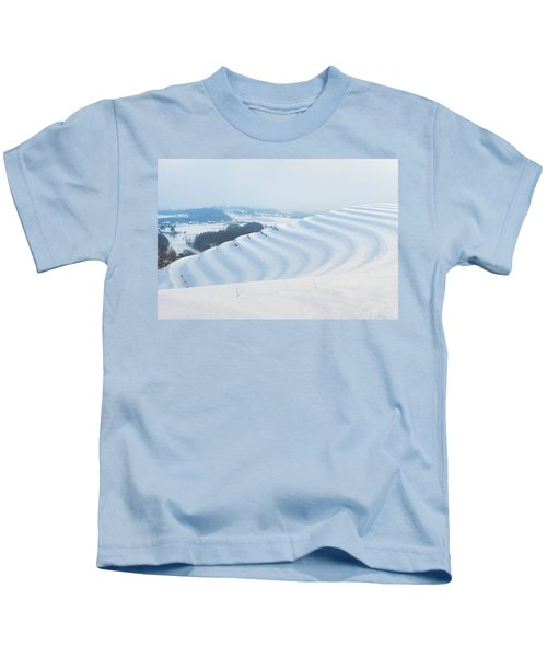 Winter Lines Kids T-Shirt