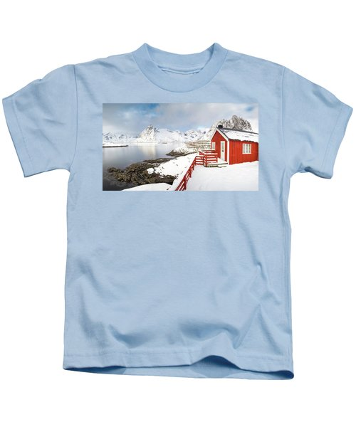 Winter Morning Kids T-Shirt