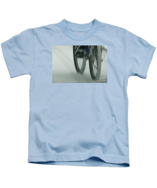 Winter Ride Kids T-Shirt