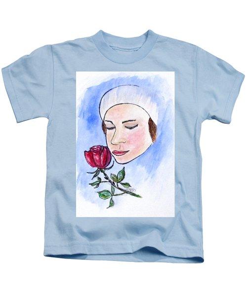 Winter Rose Kids T-Shirt
