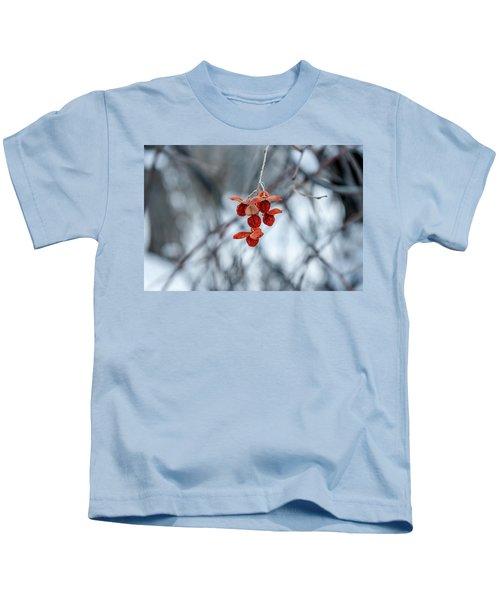Winter Seeds Kids T-Shirt