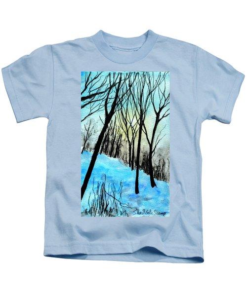 Winter Sunlight Kids T-Shirt