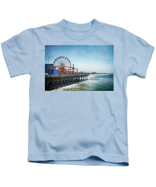 With A Smile On My Face Kids T-Shirt