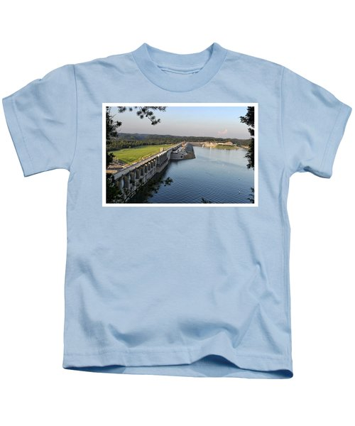 Wolf Creek Dam Kids T-Shirt