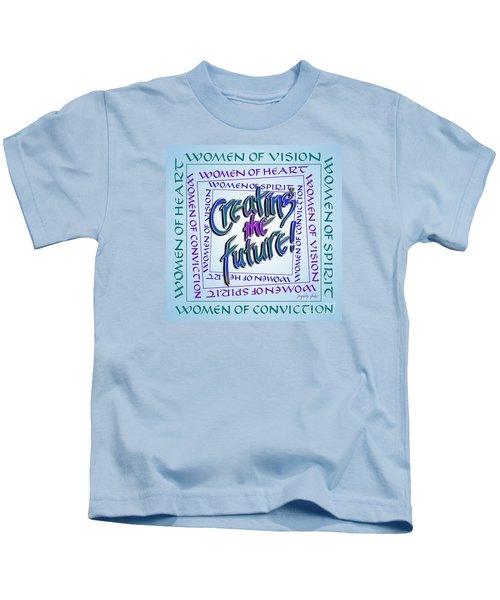 Women Of Vision Kids T-Shirt