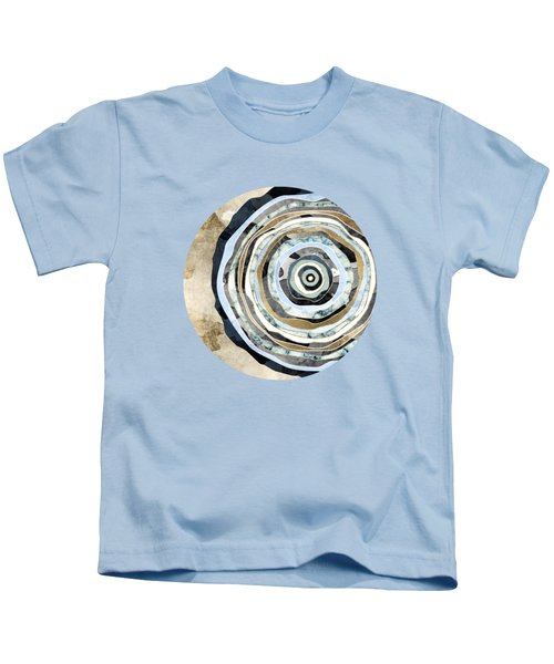 Wood Slice Abstract Kids T-Shirt