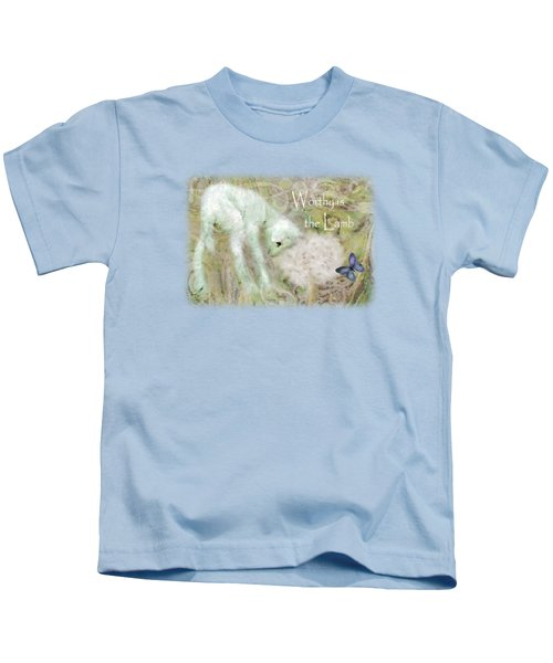 Worthy Is The Lamb - Quote Kids T-Shirt