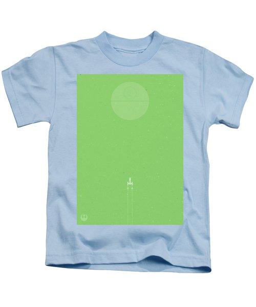 Y-wing Bombing Run Kids T-Shirt