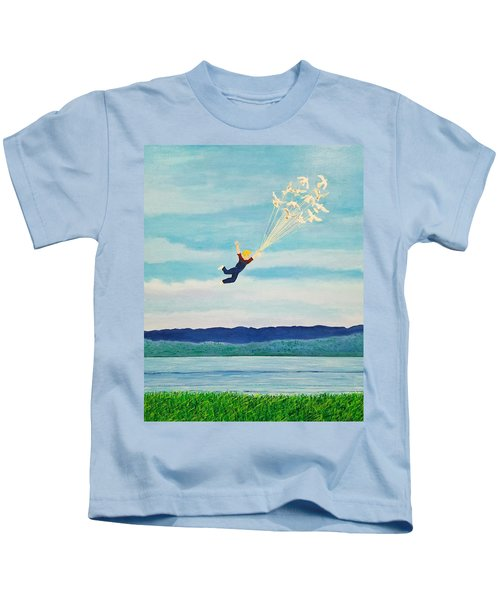 Youth Is Fleeting Kids T-Shirt