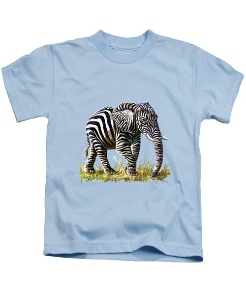 Zebraphant Kids T-Shirt