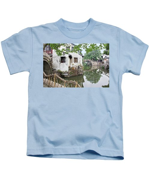 Zhouzhuang - A Watertown Kids T-Shirt