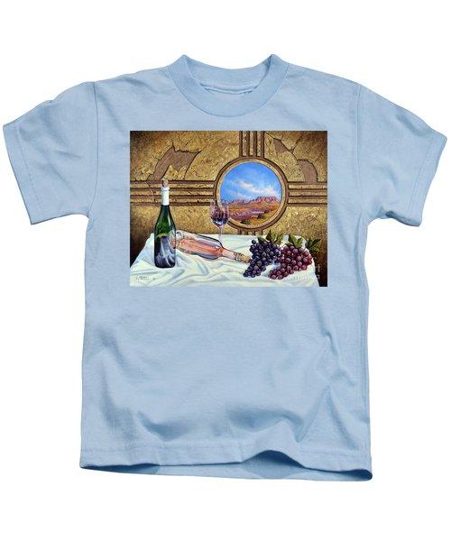 Zia Wine Kids T-Shirt