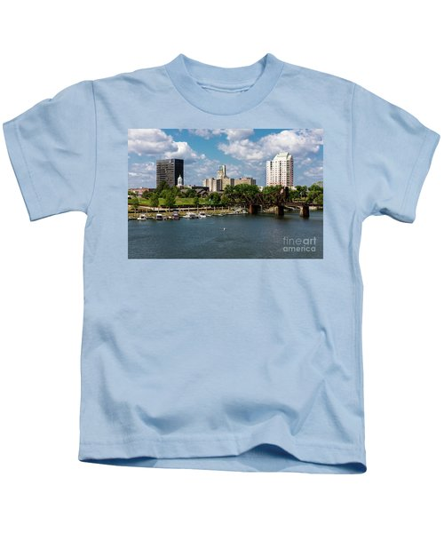 Augusta Ga - Savannah River Kids T-Shirt
