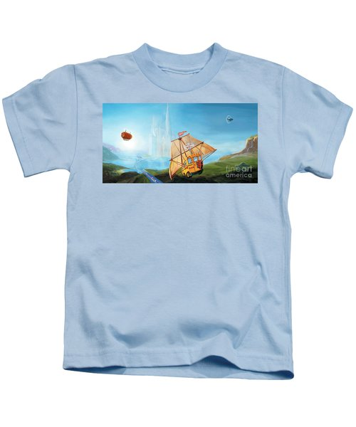City On The Sea Kids T-Shirt