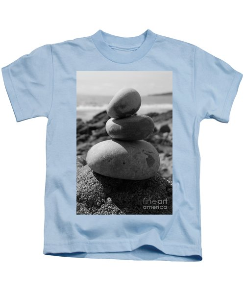 Fine Art - Pebbles Kids T-Shirt