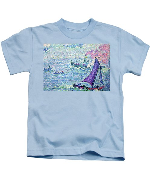 The Port Of Rotterdam - Digital Remastered Edition Kids T-Shirt