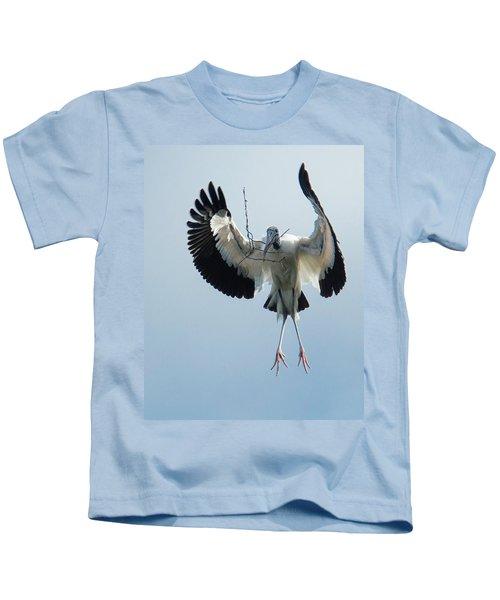 Woodstork Nesting Kids T-Shirt
