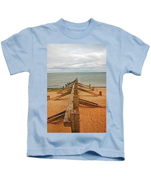19/08/13 Edinburgh, Poetobello. The Shore And Groynes. Kids T-Shirt