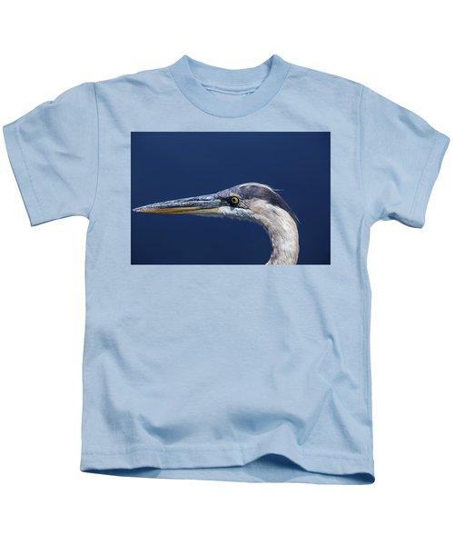 A Blue Portrait Kids T-Shirt