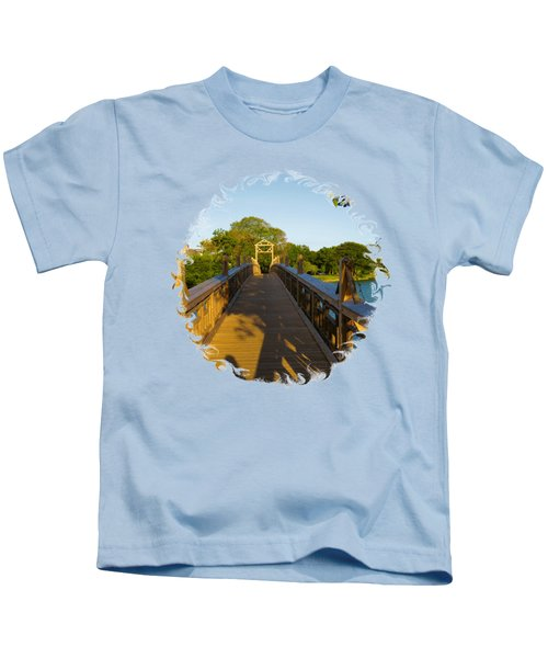 A Golden Afternoon In Spring Lake New Jersey Kids T-Shirt