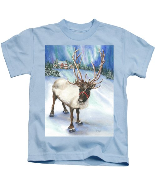 A Winter's Walk Kids T-Shirt