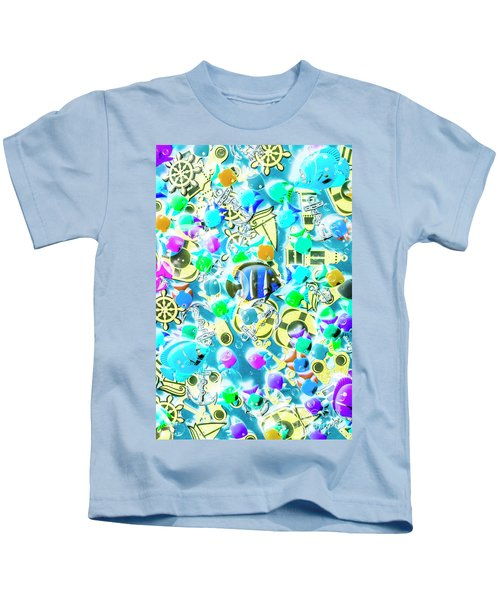 Adventures On Icon Reef Kids T-Shirt
