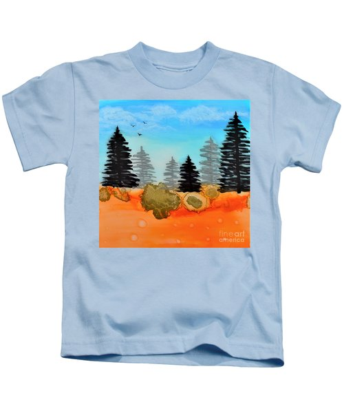 Alcohol Ink - 1 Kids T-Shirt