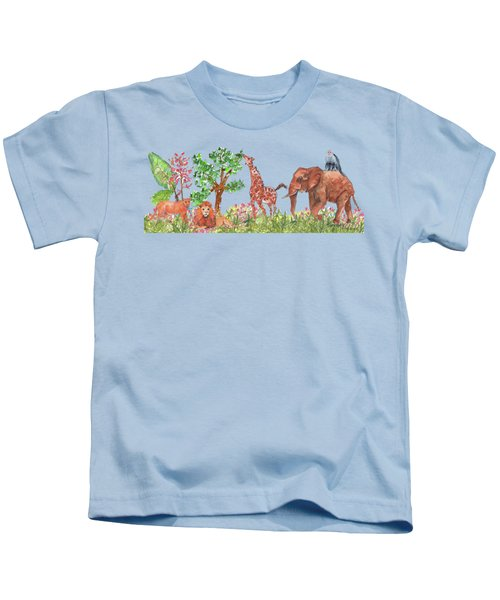 All Is Well In The Jungle Kids T-Shirt