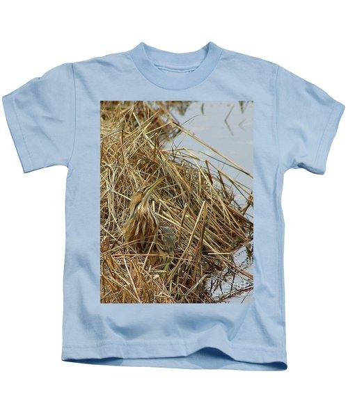American Bittern Kids T-Shirt