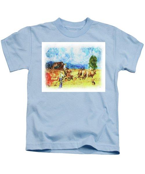 Amish Life Kids T-Shirt