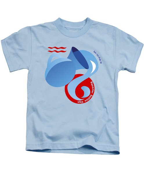 Aquarius - Water Bearer Kids T-Shirt