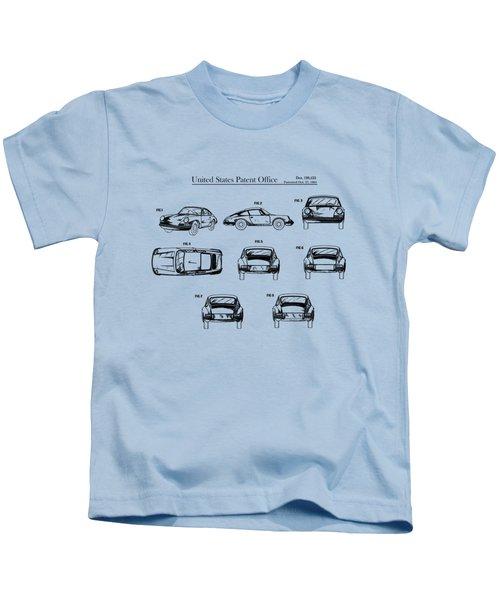 Porsche 911 Patent Kids T-Shirt