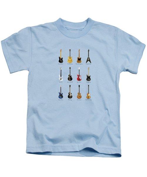 Guitar Icons No2 Kids T-Shirt
