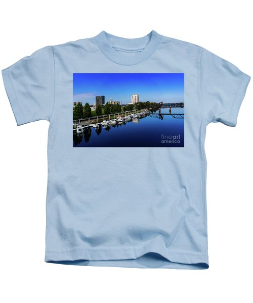 Augusta Ga Savannah River 2 Kids T-Shirt