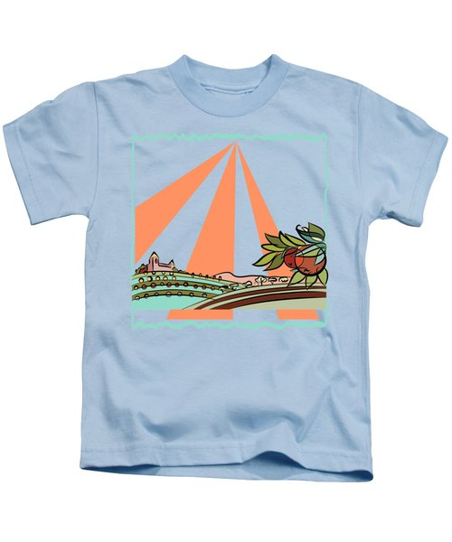 Autumn Harvest Illustration 2 Kids T-Shirt