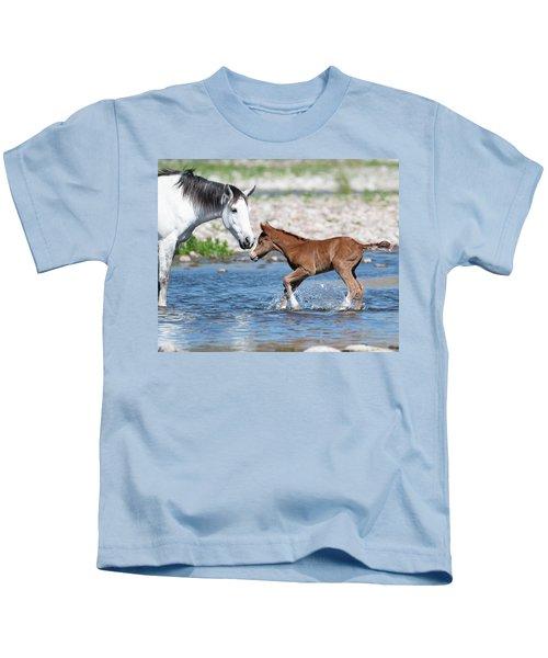 Baby's First River Trip Kids T-Shirt