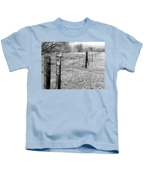 Barbed Wire Fence Kids T-Shirt
