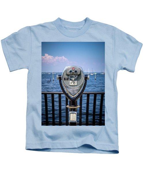 Binocular Viewer Kids T-Shirt