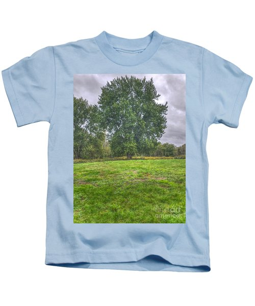 Blacklick Circle Earthwork Kids T-Shirt