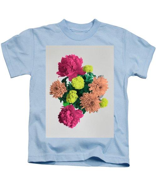 Blooming Happiness, 2017, (screen Print) Kids T-Shirt