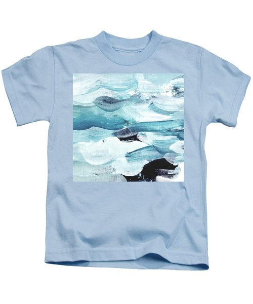 Blue #13 Kids T-Shirt