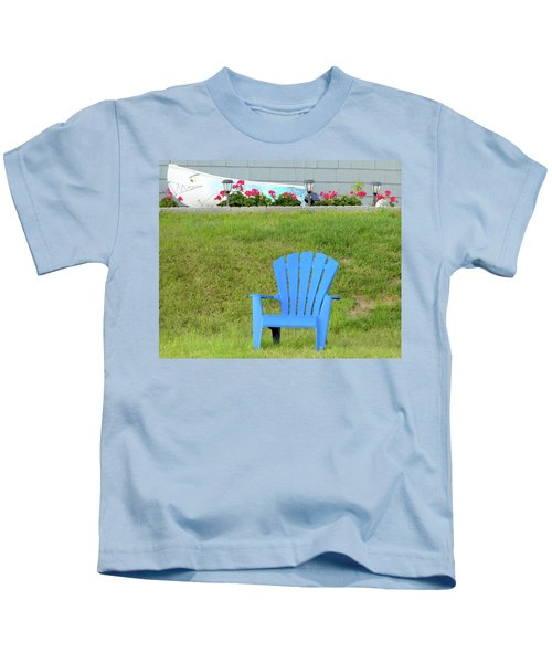 Blue Chair Kids T-Shirt