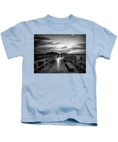 Bradenton Beach City Pier Kids T-Shirt