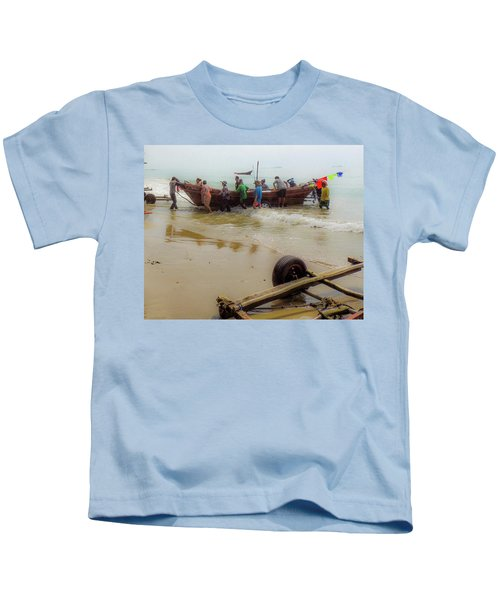 Bringing In The Catch Kids T-Shirt